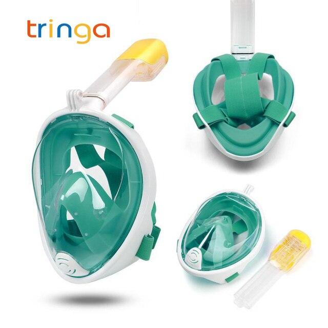 Masque de plongée intégral Anti-buée masque de plongée sous-marine masque de chasse sous-marine enfants/adultes lunettes équipement de plongée dentraînement