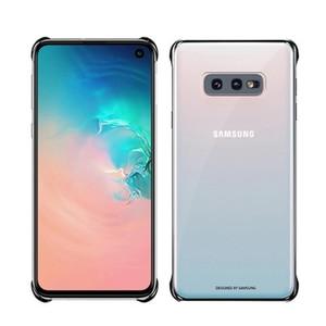Image 5 - SAMSUNG Original Telefon Abdeckung für Samsung Galaxy S10 S10Plus S10 X S10E SM G9700 SM G9730 G9750 Transparent Hard Shell Telefon Fall