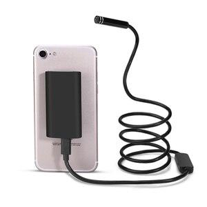 Image 2 - Wifi endoscópio câmera mini ip67 à prova dip67 água cabo macio inspeção câmera 8mm usb endoscópio ios endoscópio para iphone