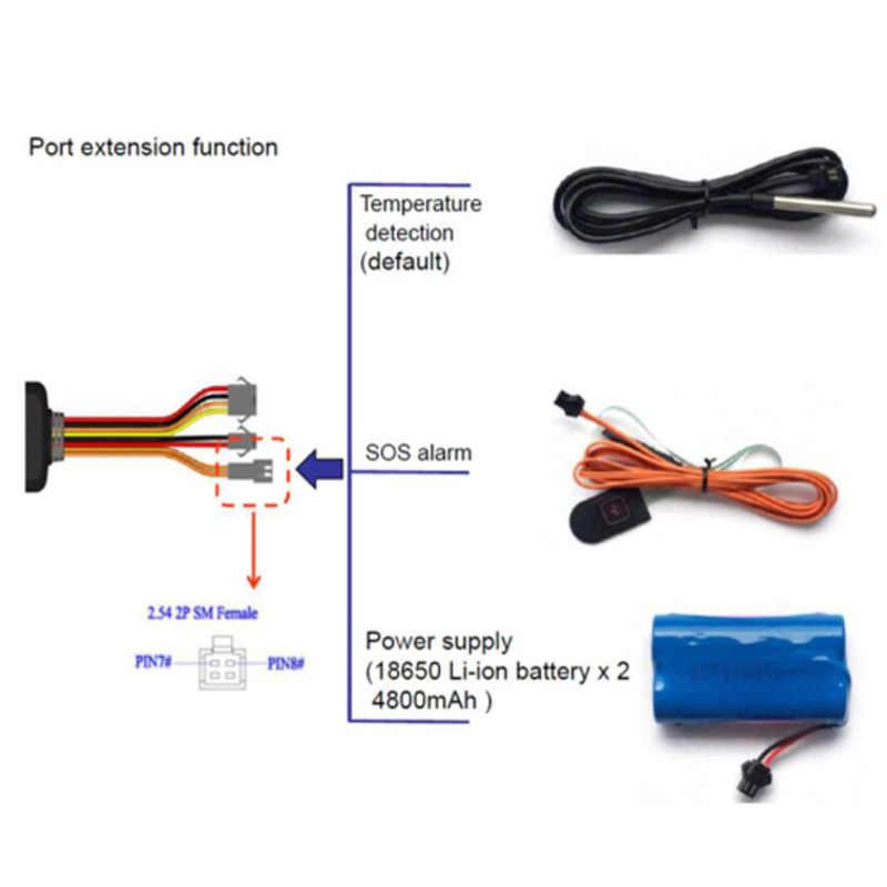 4 аппарат не привязан к оператору сотовой связи кошка M1 автомобиля gps трекер TK319-L для автомобиля/грузовика/транспортного средства nb-iot gps устройство отслеживания в режиме реального времени отслеживать Батарея сигнализации бесплатного приложения