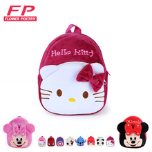 Children s Gifts Kindergarten Boy Backpack font b Plush b font Baby Children School Bags For
