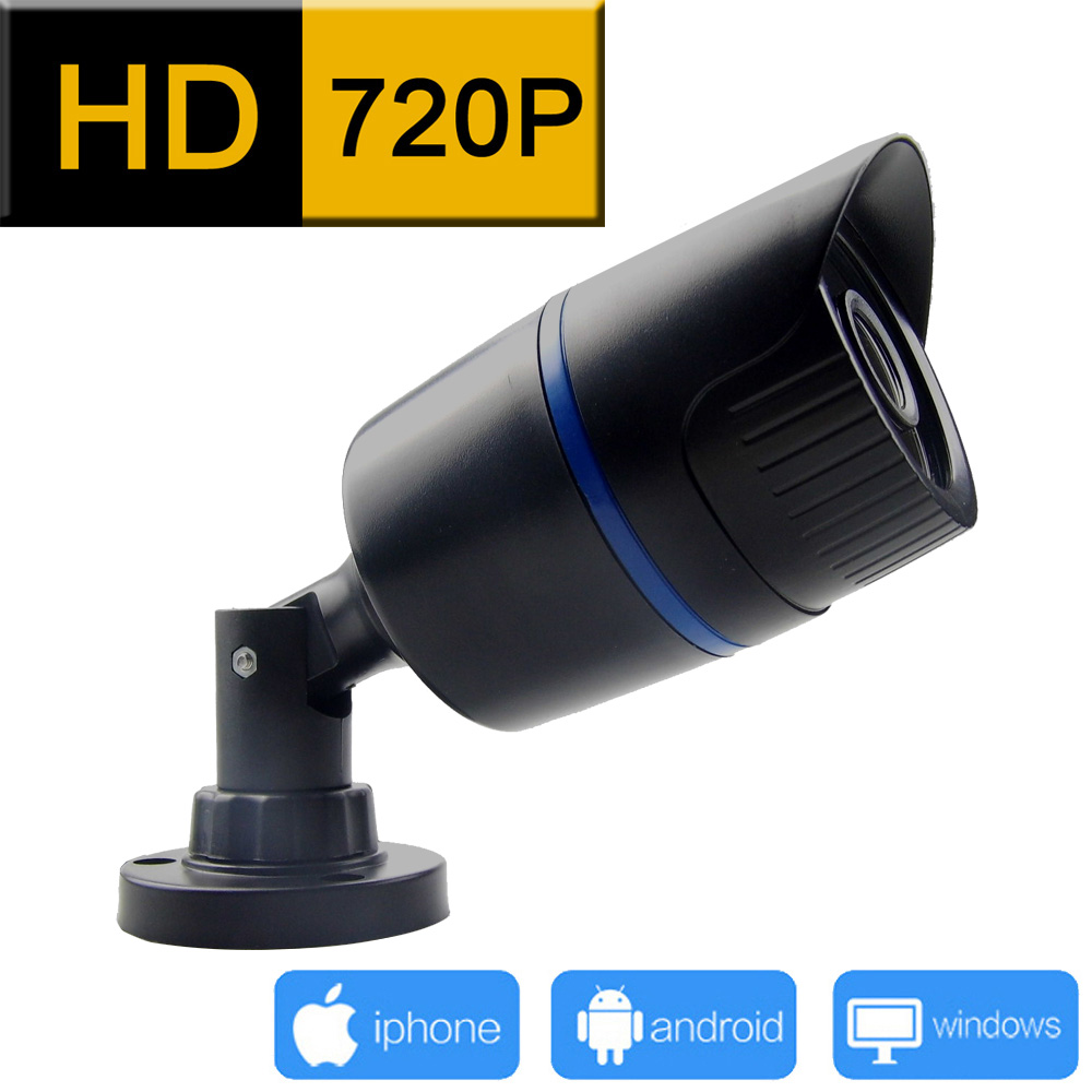 1280*720 ip camera outdoor 720P cctv security system waterproof surveillance video infrared cam home camara p2p hd webcam jienu lifan 720 720