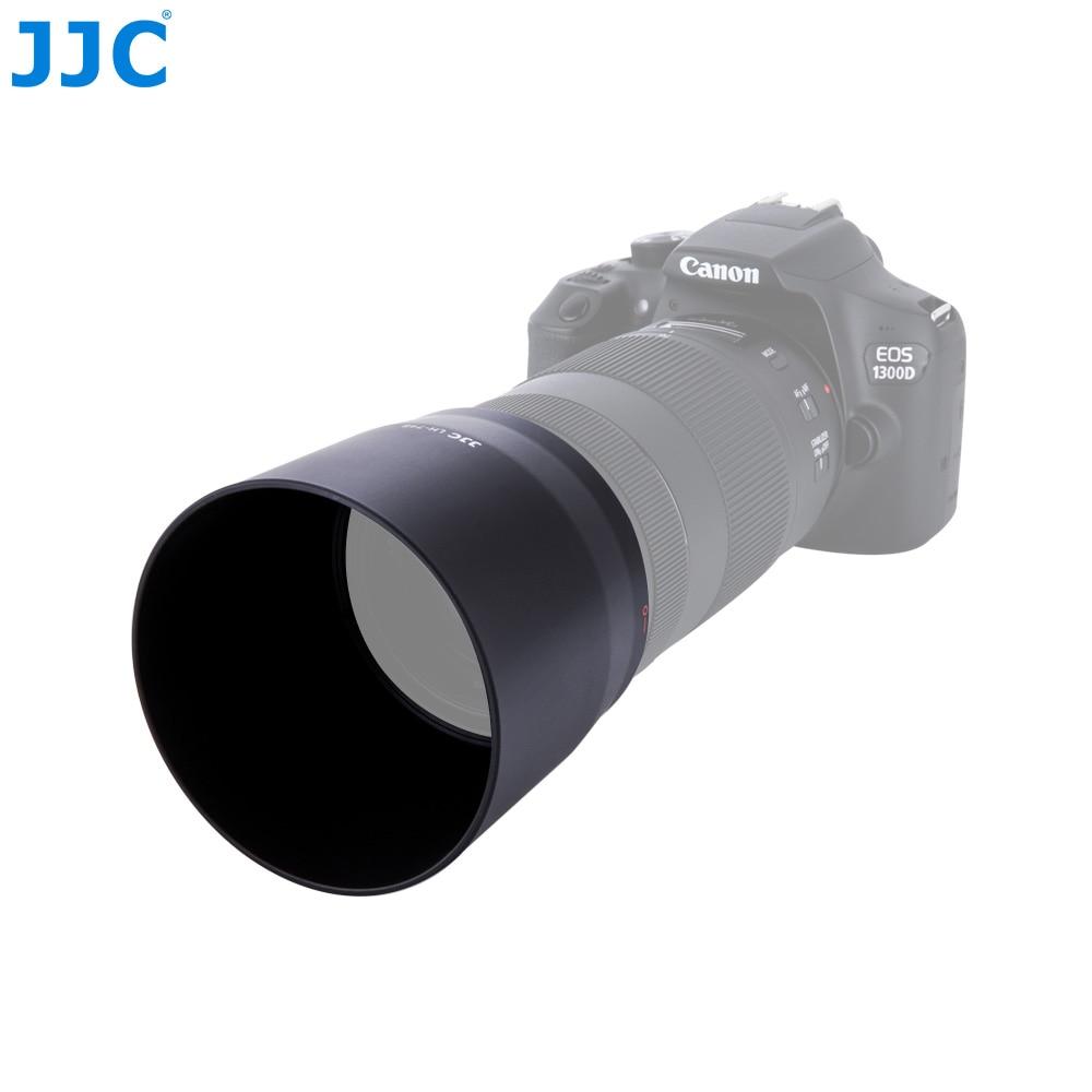 JJC ET-74B EF 70 300mm f/4-5,6 IS II USM Lens Hood para Canon 1D X Mark II 5D Mark IV 5DS 80D 6D Mark II 7DM2 6D DSLR Cámara