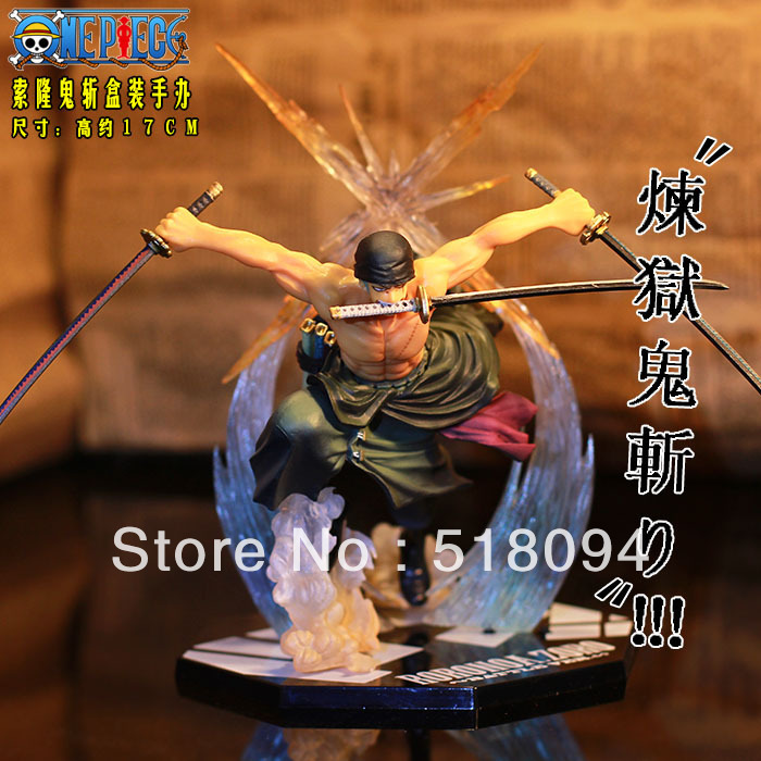 anime figures One Piece Japan Anime POP Roronoa Zoro 17CM Action Figure Banpresto Colossum New in Box Free Shipping 35cm japanese anime one piece pop edward newgate pvc action figures toys in box retail free shipping