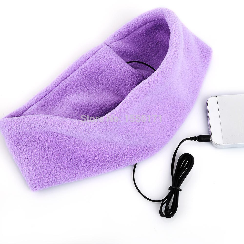 ישנה חבילה מובנה עם אוזניות אוזניות אוזניות הספורט פועל אוזניות סרט על הטלפון הנייד