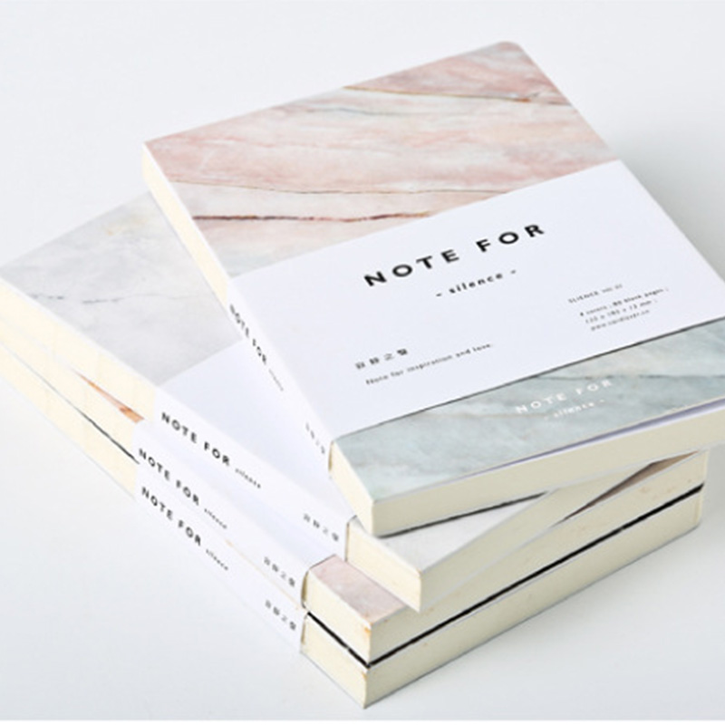 New Note For Silence Sketchbook Diary Drawing 80 Sheets Creative School Notebook Paper Sketch Book Office School Supplies Gift a5 blank sketchbook diary drawing graffiti painting kraft sketch book 80 sheets spiral notebook paper office school supplies