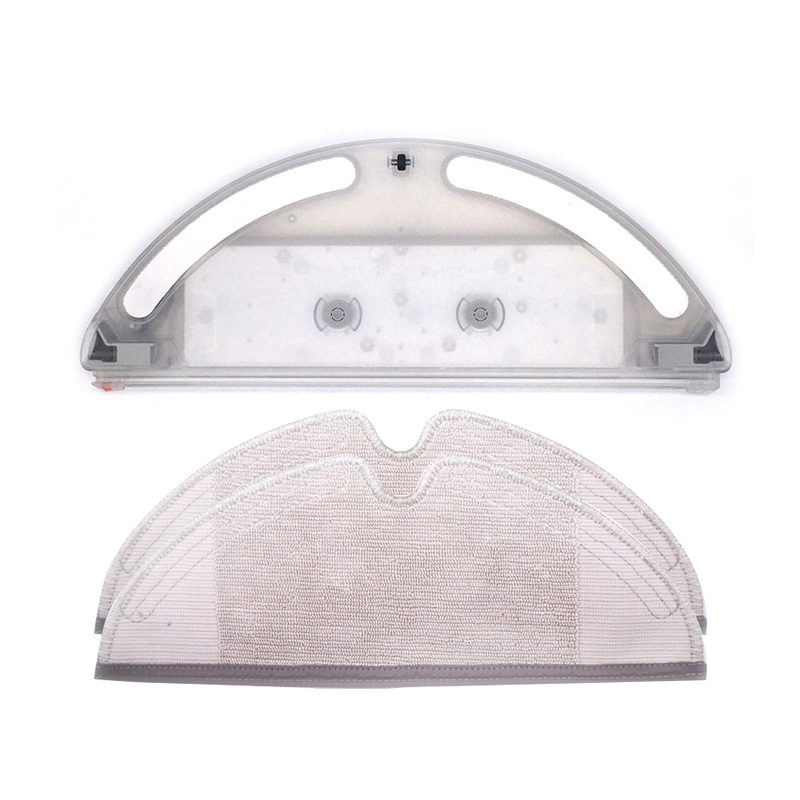 Water Tank + Mop Cloths For Xiaomi Roborock S50 S51 S55 T60 T61 Vacuum Cleaner Parts
