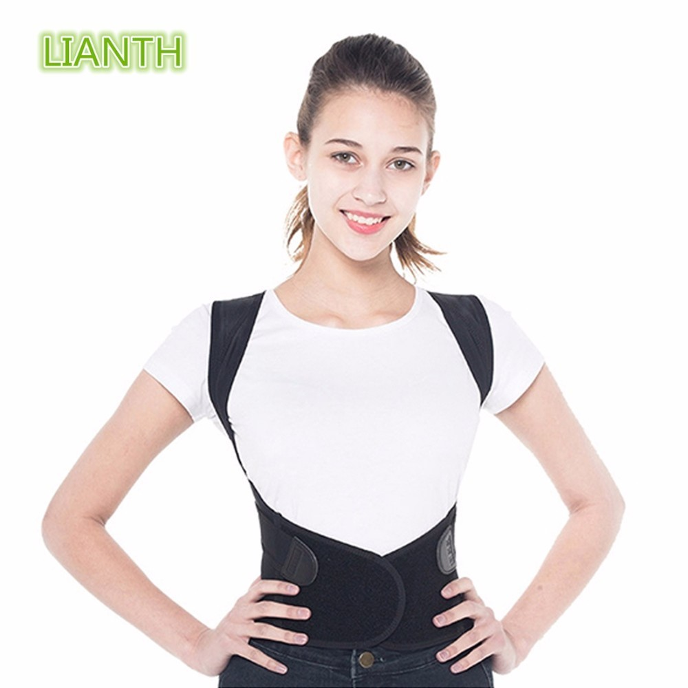 Top Quality Posture Corrector Belt, Breathable Comfortable Humpback Correction for Children Men and Women Body Sculpting T191A back posture correction belt for children beige