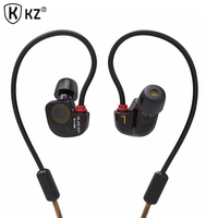 Original KZ ATE S In Ear Earphones HIFI Copper Driver Stereo Sport Earphone Auriculares For Iphone