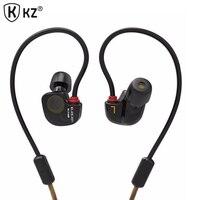 Original KZ ATE S In Ear Earphones HIFI Copper Driver Stereo Sport Earphone Auriculares For Iphone