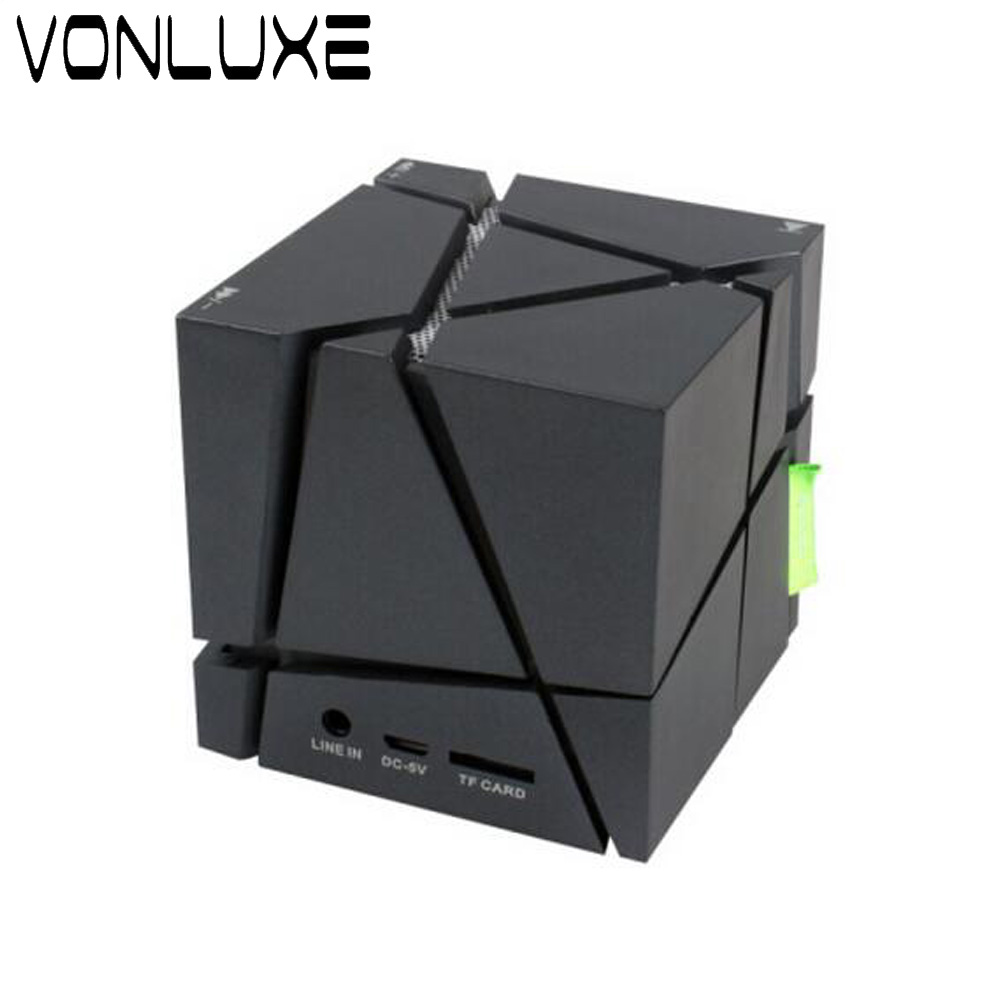 Magic Led Wireless Bluetooth Receiver For Xiaomi Speaker Cube Classic Mini Sound Box Speakers Portable Audio In From