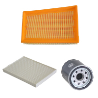 Car Air Filter Cabin Filter Oil Filter For Nissan Cefiro MX6 X Trail Qashqai Renault Koleos 16546 JD20A 27891 JY15A 15208 65F00