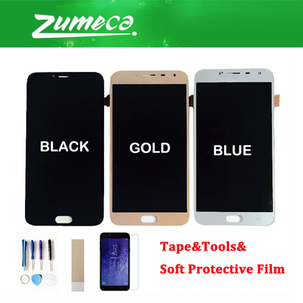 For Samsung Galaxy J4 2018 J400 J400F/DS J400G/DS J400 LCD Display Touch Screen Sensor Glass Digitizer Assembly 3 Color+KitsFor Samsung Galaxy J4 2018 J400 J400F/DS J400G/DS J400 LCD Display Touch Screen Sensor Glass Digitizer Assembly 3 Color+Kits