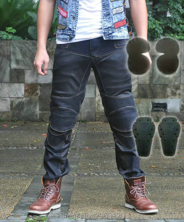 Free shipping PK719 mesh summer motorcycle jeans knight casual protection pants moto ridiers daily riding breathable trousers