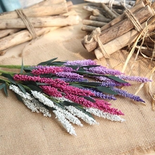 10 pcs Beautiful European Lavender Artificial PE Fake Flowers