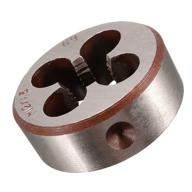 Handwerkzeuge M12 X 1,5 Pitch Hss Maschine Rechten Schraube Gewinde Metric Stecker Tap & Runde Sterben Spezieller Kauf
