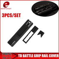 Element Battle 20mm Rail Cover with Pressure Switch Pocket For Airsoft OT0807