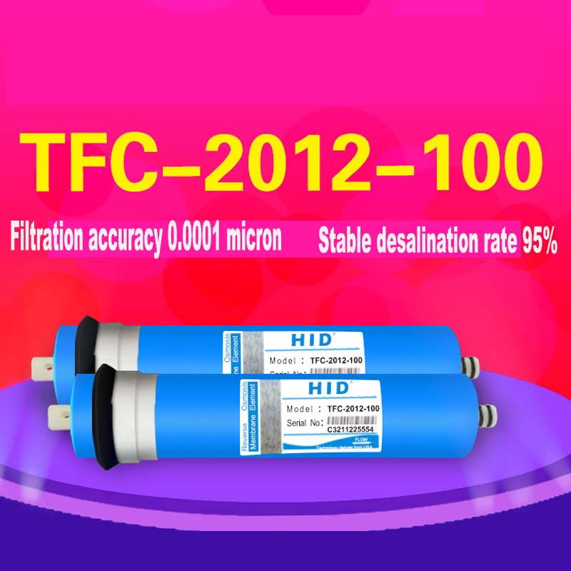 HID T F C-2012- 100 G PD R O membrane for 5 stage water filter purifier treatment reverse osmosis system NSF/ANSI Standard