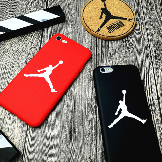 Jordan Cover Case For Iphone X Xs Max Xr 10 8 7 6 6s Plus 5 5s Se Soft Matte Silicone Phone Cover basketball Sports Coque fundas
