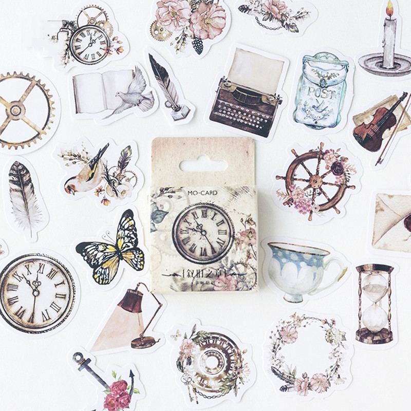 Aliexpress.com : Buy (46pieces/lot)Vintage things Label ...
