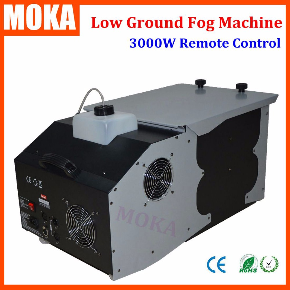 Stage Smoke Machine 3000w Low Fog Machine Remote Control With DMX512 Haze Machine For Wedding Party недорого