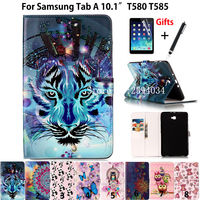 Slim Painted Case For Samsung Galaxy Tab A A6 10 1 2016 SM T580 T585 T580