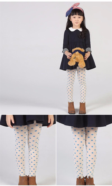 Warm Children Girls Pantyhose  (8)