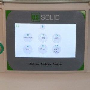 Image 3 - 米国固体 200 × 0.0001 グラム 0.1mg ラボ分析バランスデジタル電子精密体重計 ce 認定タッチスクリーン