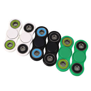 ANSELF 100PCS/lot EDC Fidget Spinner Plastic Adults