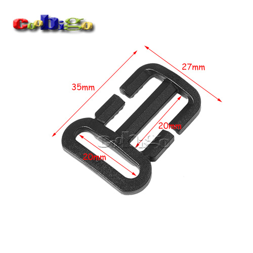 Home & Garden 10pcs Pack 3/4x3/4 Multi-function Tri-glide Slider Adjust Buckle Hardware For Outdoor Backpack Bags Webbing #flc451-b1 Apparel Sewing & Fabric