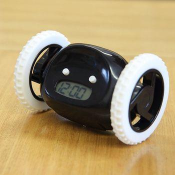 Alarme sur roue, Clocky le réveil que vous allez détester chaque matin 4