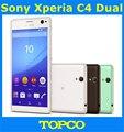 "Sony Xperia C4 Dual octa-core Android teléfono móvil abierto original de Sony E5533 E5343 WIFI GPS 3G y 4G 5.5 ""16MP 2 GB RAM 16 GB ROM"