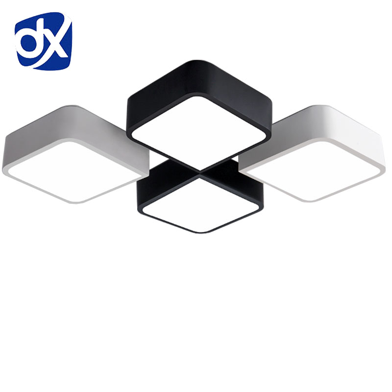 Creative ceiling light lamparas de techo plafoniere for Lampara tela techo