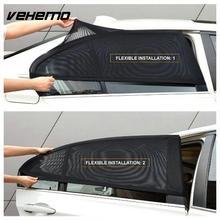 2 個車の窓サンシェード自動ウィンドウシールド uv 保護シールドカバーサンシェード車のサンプロテクターウィンドウシェードのための車