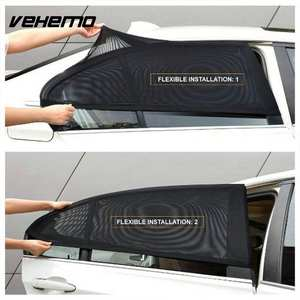 Curtain Shield Window-Protector Sunshade Car-Accessories 2pcs