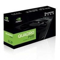Leadtek Quadro P400 2 GB профессиональный графический дизайн рабочей станции видеокарта поддерживает 4 K три года гарантии