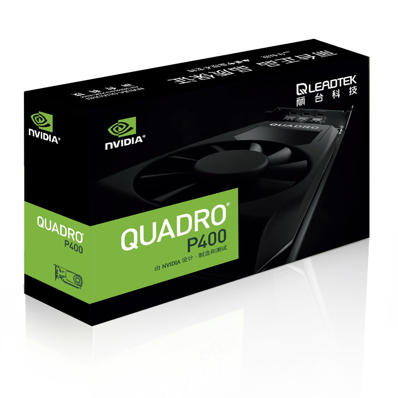 Leadtek Quadro P400 2GB Professional Graphics Design Workstation Graphics Card Supports 4K Three-year Warranty