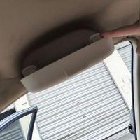 Caja de gafas de sol de coche Jameo para Volvo S60 S90 XC90 S80L XC60 V60 V40  caja de gafas de reacondicionamiento Interior|Funda para gafas| |  -