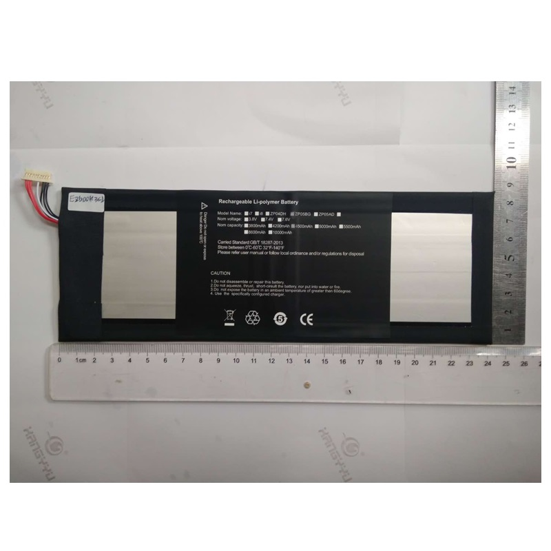 Batterie pour Jumper EZbook 3 Pro tablette PC EZbook3 nouveau Li polymère accumulateur Rechargeable remplacement HW3487265 7.6 V 4500 mAh