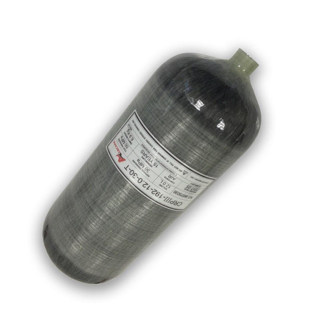 AC3120 réservoir de plongée pcp condor cylindre de gaz 300 vbar réservoirs d'air de plongée pcp haute pression cylindre paintball réservoir airsoft gaz ACECARE