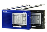TECSUN R-911 AM/FM/SM/MW (11 bandes) Multi Bandes Portable porket radio Haute Sensibilité Récepteur Avec Haut-Parleur Intégré R911