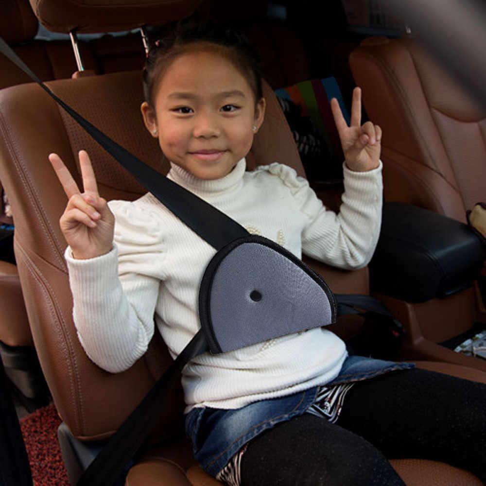 Acessórios do carro cinto de segurança ajuste do carro bebê crianças protetor de cinto de segurança confortável criança titular cinto de segurança do carro estilo do carro