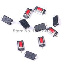 100PCS 3*6*2.5mm 3*6*2.5H SMD Red Button Switch Key Switch Tact Switch