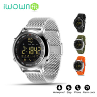 IWOWNFIT EX18 Smart Watches Call Reminder Smartwatch Sport Watch Phone Smartwatch Waterproof Support Call And SMS