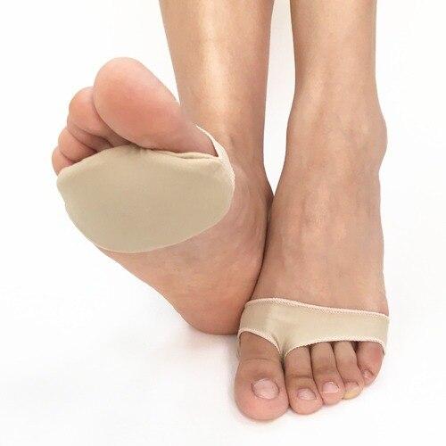 SpringYard Gel+Fabric Forefoot Pad Metatarsal Pads Cushion Corn Callus Soft Foot Care Tool for Shoes Men Women Lahore