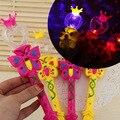 Em todo o céu da estrela da luz varinha mágica New girl presentes brinquedos