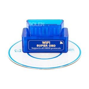 Image 5 - ELM327 WiFi Super Mini V1.5 Chip PIC18F25K80 OBD II Strumento di Diagnostica Auto iOS/Android ELM 327 Wi Fi OBD2 Codice lettore di