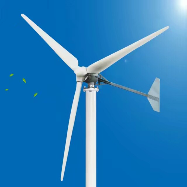 US $620 0  Wind generator manufacturer! Portable home use 2kw 48v wind  turbine for sales-in Alternative Energy Generators from Home Improvement on