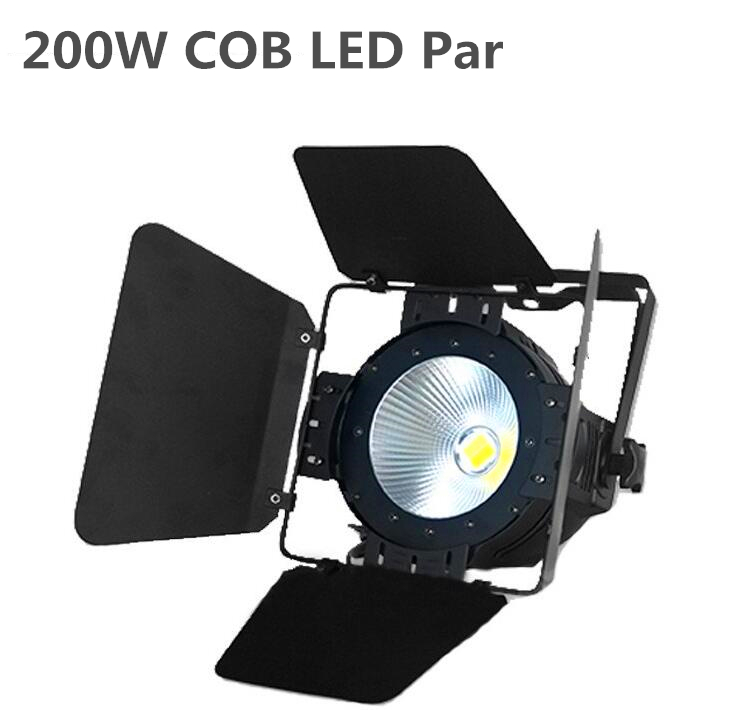 Latest hot latest design LED par 200W COB With Barn Doors  RGBWA Warm White Cold white UV Aluminium Case Stage LightingLatest hot latest design LED par 200W COB With Barn Doors  RGBWA Warm White Cold white UV Aluminium Case Stage Lighting