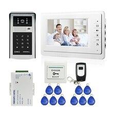 FREE SHIPPING New 7 LCD Video Intercom font b Door b font Phone System 1 Monitor
